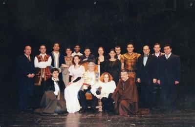 "Migros ""Kral Lear"" Projesi,İstanbul DT Küçük Sahne,1997"